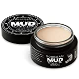 Bossman MUDstache - Unscented Mustache Wax - Lasts 24 Hours - No Tint - Strong Hold for Taming, Training, and Styling