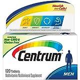 Centrum Multivitamin for Men, Multivitamin/Multimineral Supplement with Vitamin D3, B Vitamins and Antioxidants - 120 Count