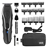 Wahl Clipper Aqua Blade Wet/Dry Beard Trimmer Kit, Lithium Ion All in One Grooming Kit for Beard, Ear, Nose and Body, Waterproof Cordless Rechargeable, By The Brand used by Professionals #9899-100