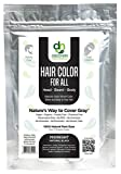 Manly Guy BLACK Hair, Beard & Mustache Color: 100% Natural & Chemical Free