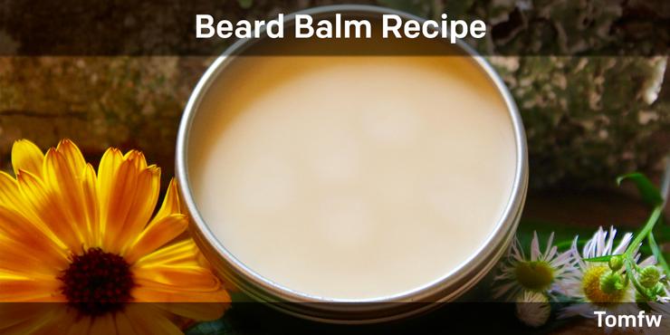 best Beard balm recepie