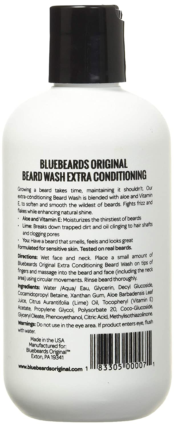 Best Beard Shampoo with Extra Conditioning