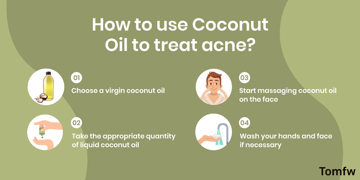 steps to use coconut oil
