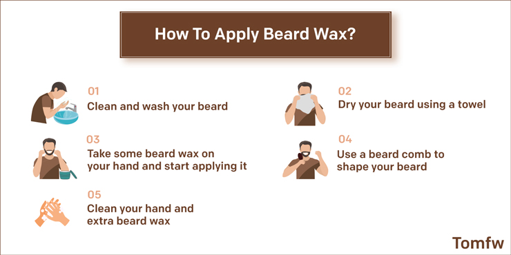 apply wax