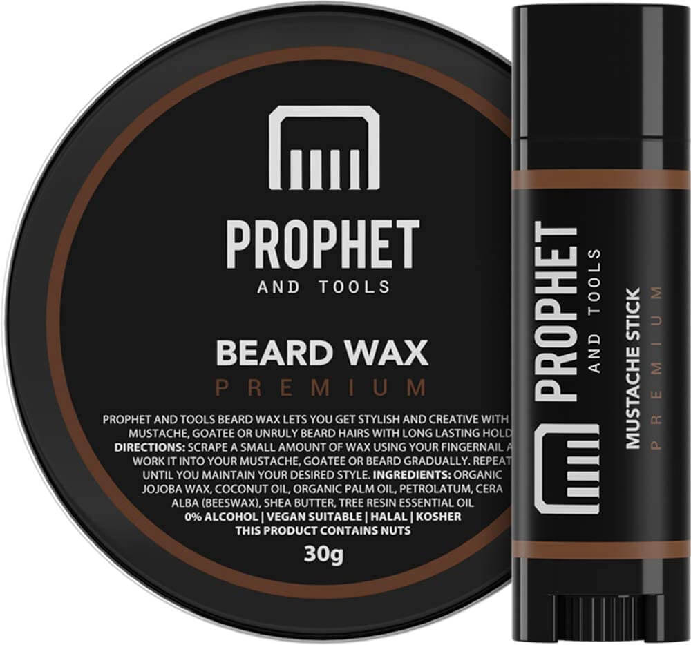 Prophet and Tools Beard Wax and Mustache Stick