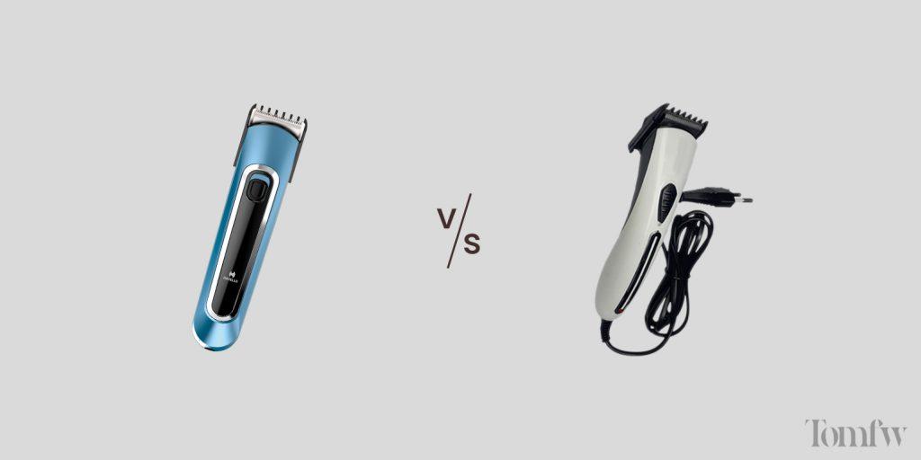 corded vs cordless beard trimmer