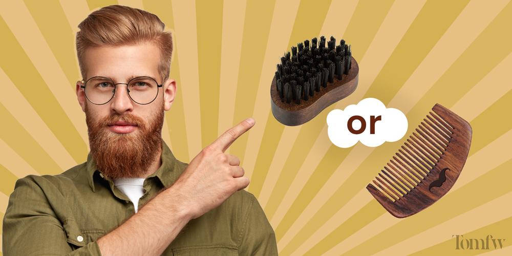 beard comb vs brush