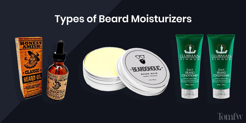 types of beard moisturizer