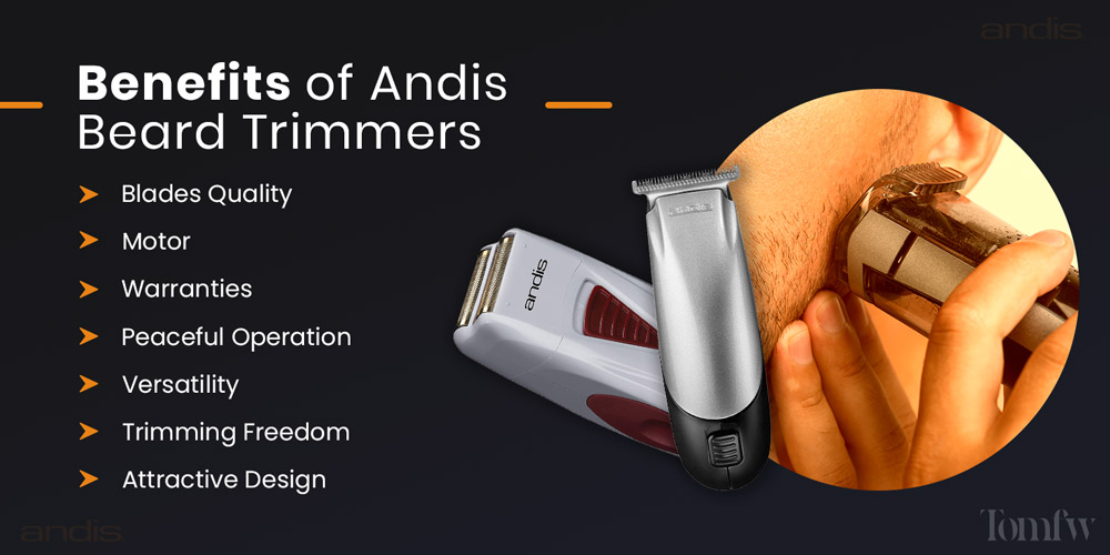 benefits of andis beard trimmer
