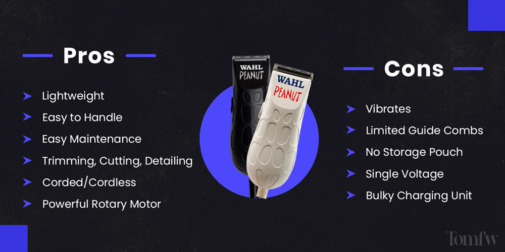 wahl peanut clippers
