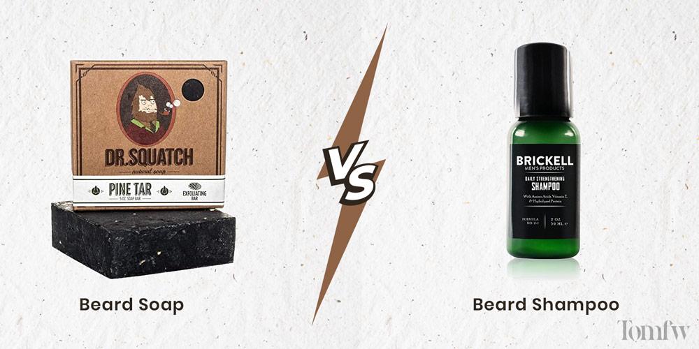beard soap vs beard shampoo
