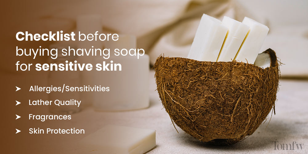 What is the best shaving soap for sensitive skin?