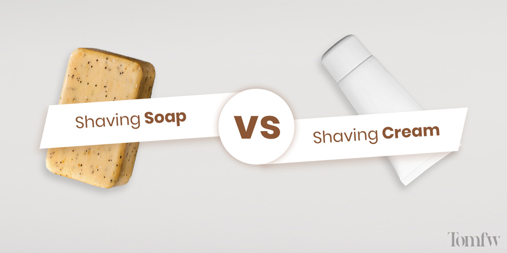 What is the difference between shaving soap and shaving cream?