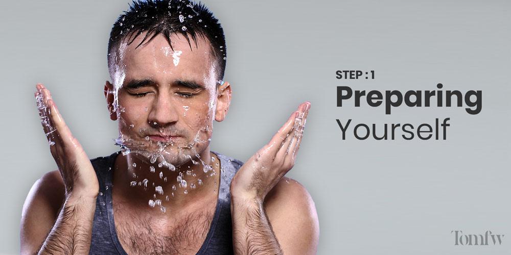 how to use straight razor