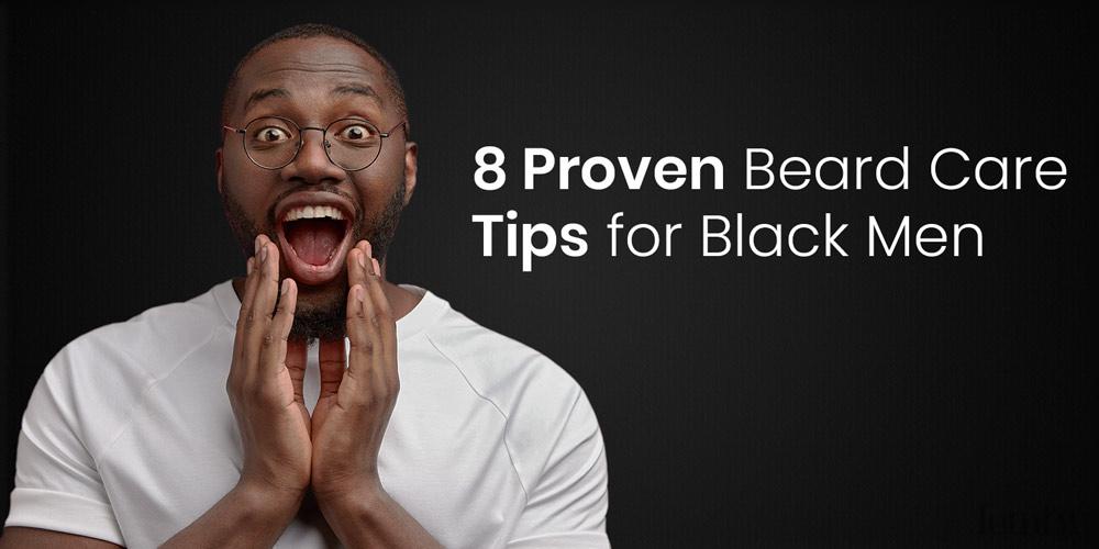 beard treatment for black men