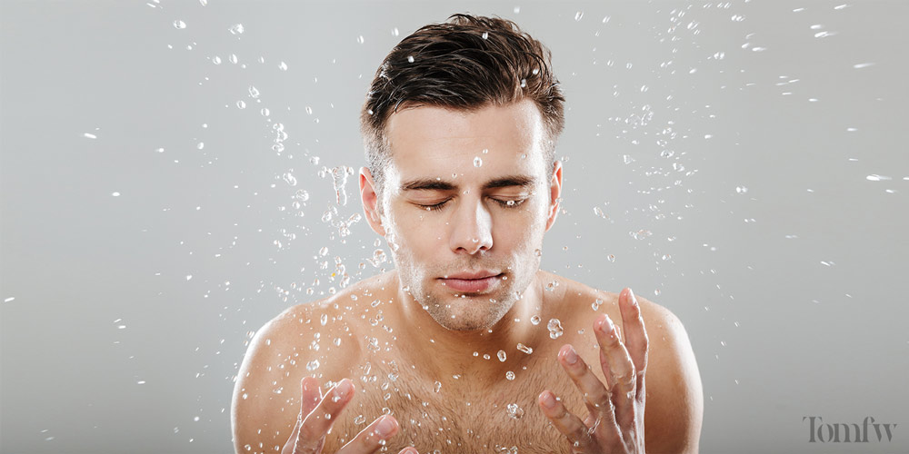 how to apply minoxidil beard