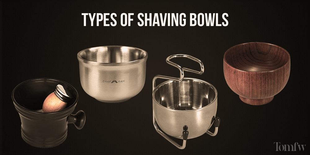 shave soap bowls