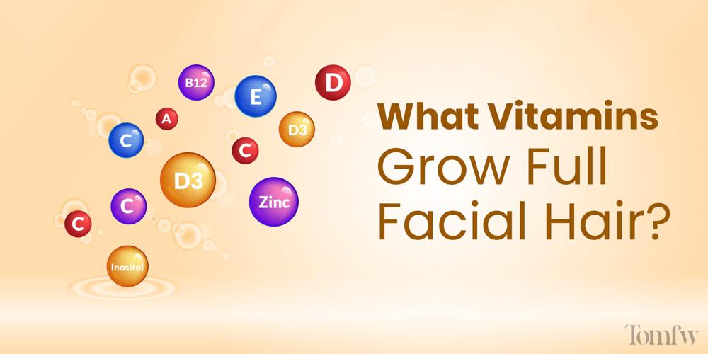 do beard growth vitamins work