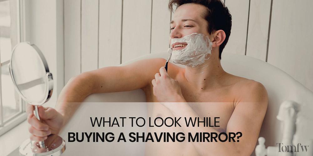 best shower mirror