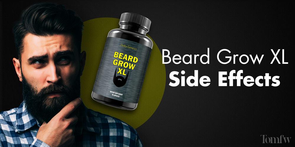 beard grow xl side effects