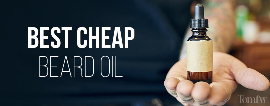 best cheap beard oil
