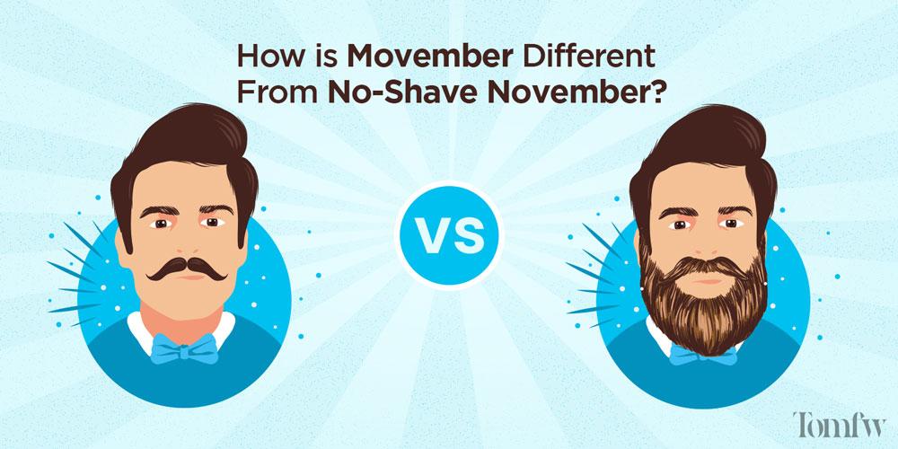 no shave november vs movember