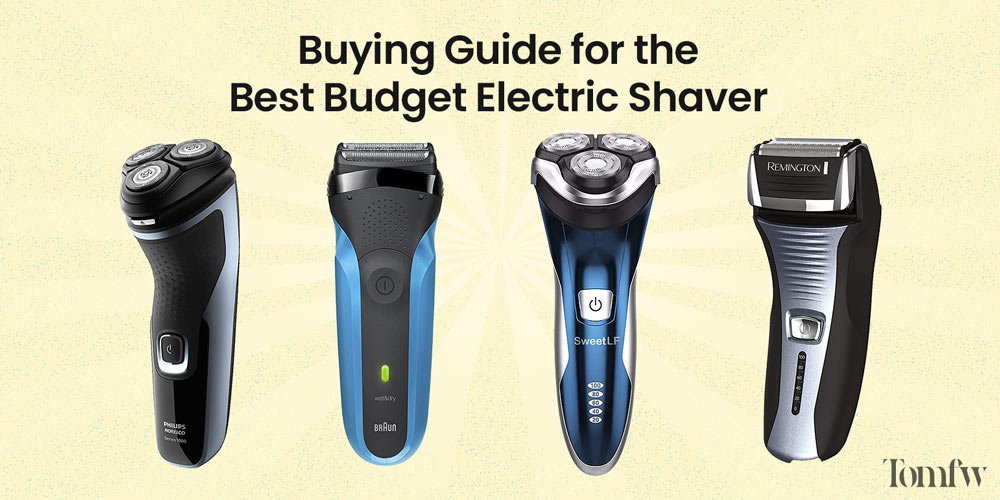 best affordable electric razor