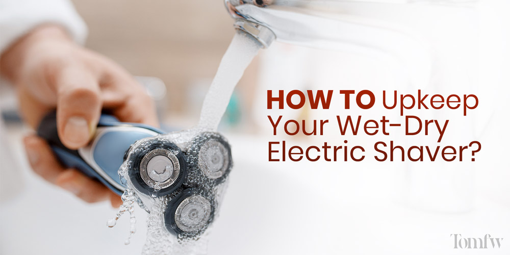 waterproof electric razor