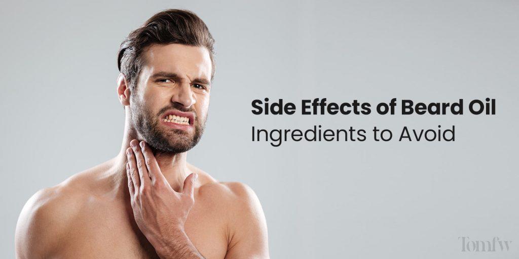 beard oil effects