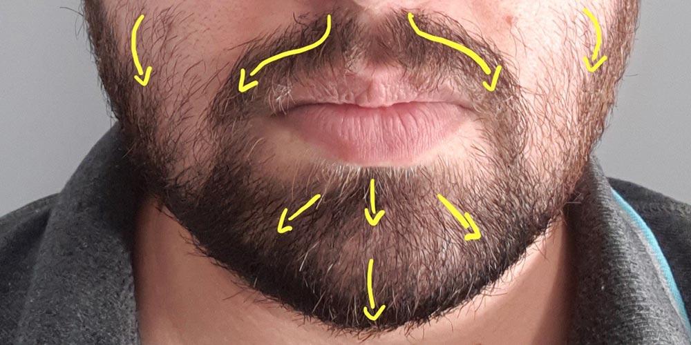 shaving against the grain face