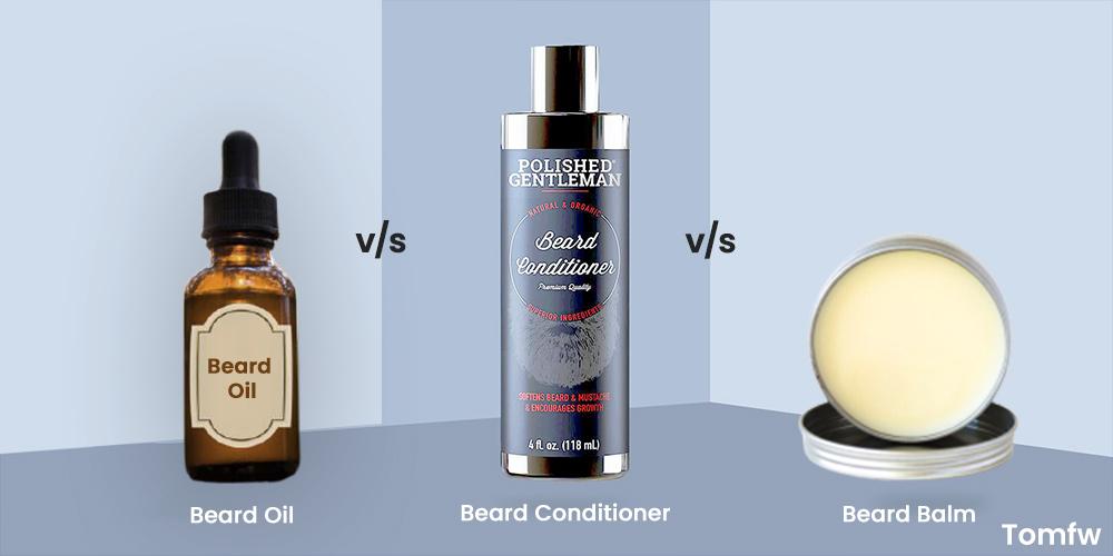 beard conditioner vs oil