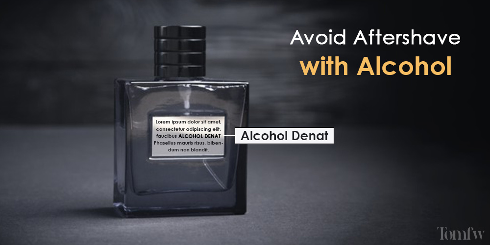 aftershave alternatives to avoid