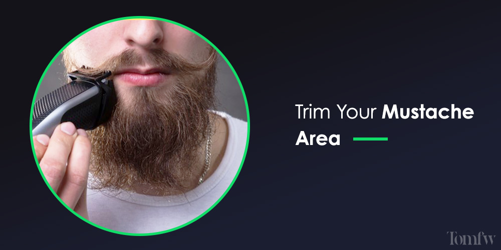 how to trim beard with trimmer