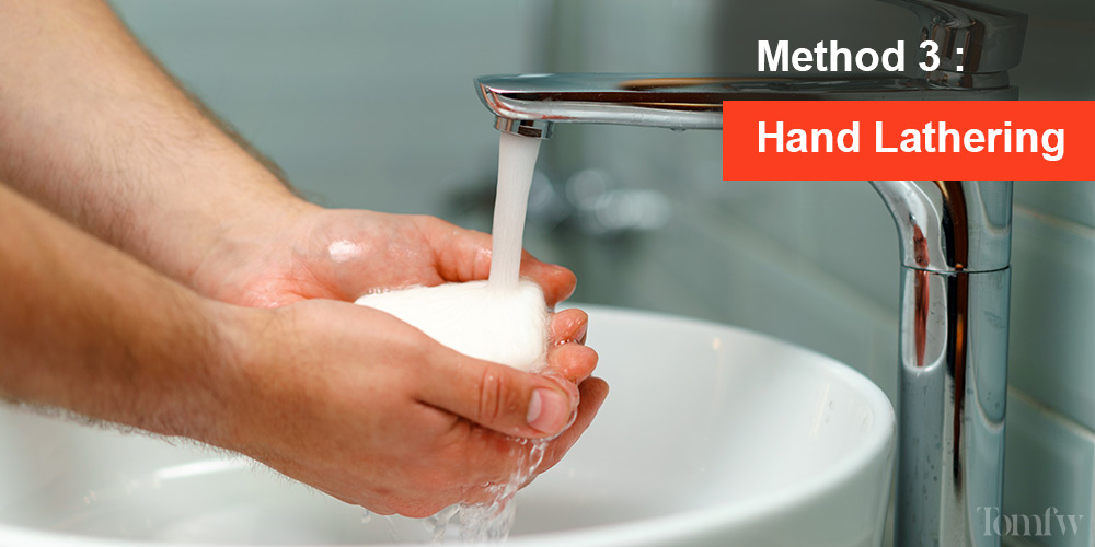 shaving soap lather