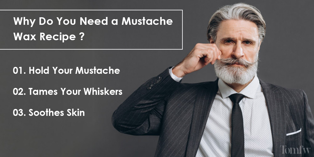 how to make mustache wax